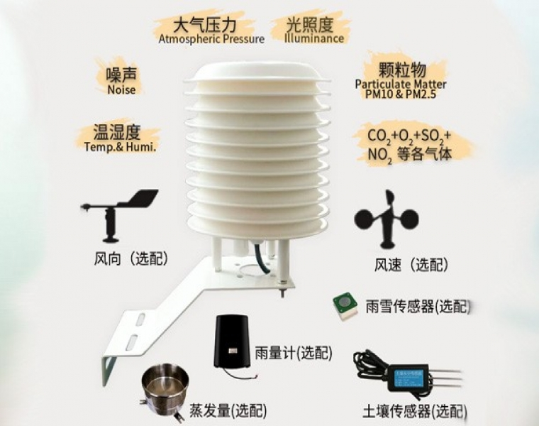小型气象站-传感器